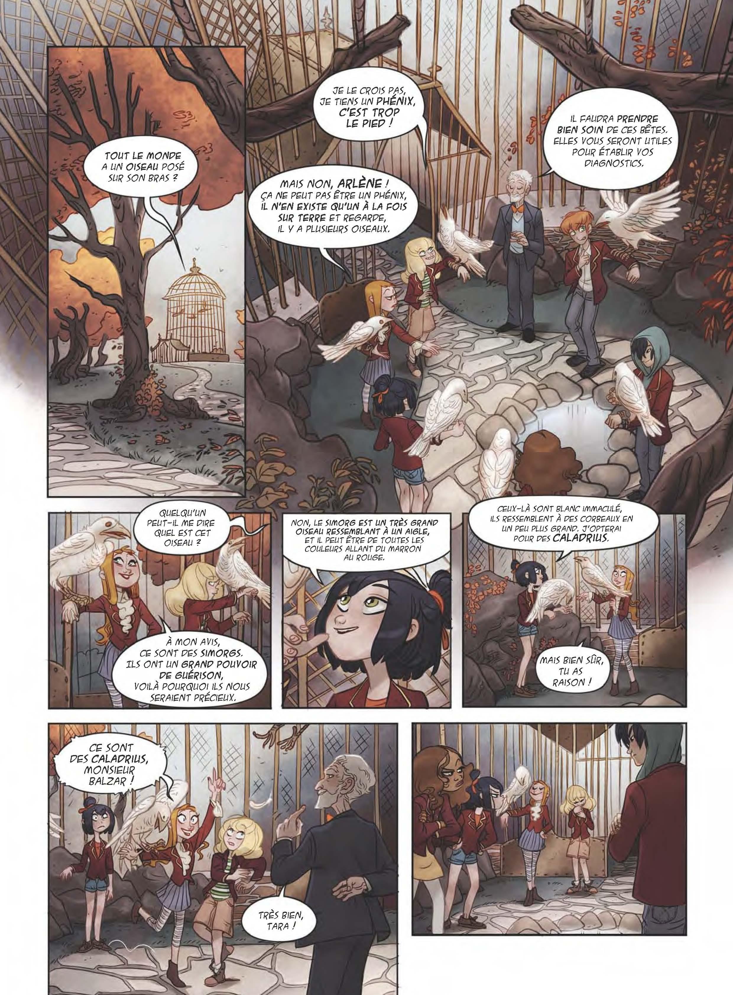 Extrait n°10 de la bd tome 1 par Sylvia Douyé