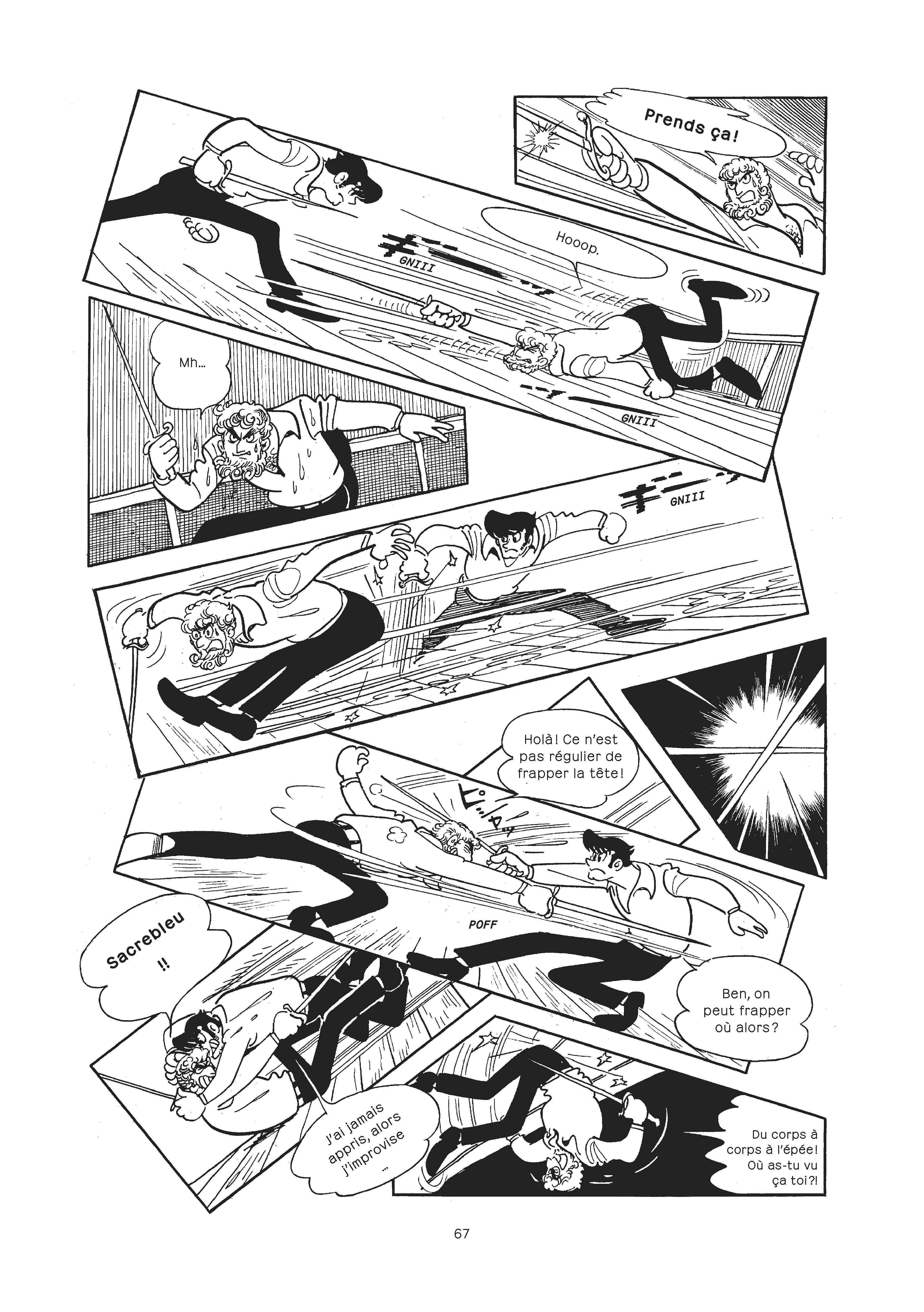 Extrait n°2 du manga par Osamu Tezuka