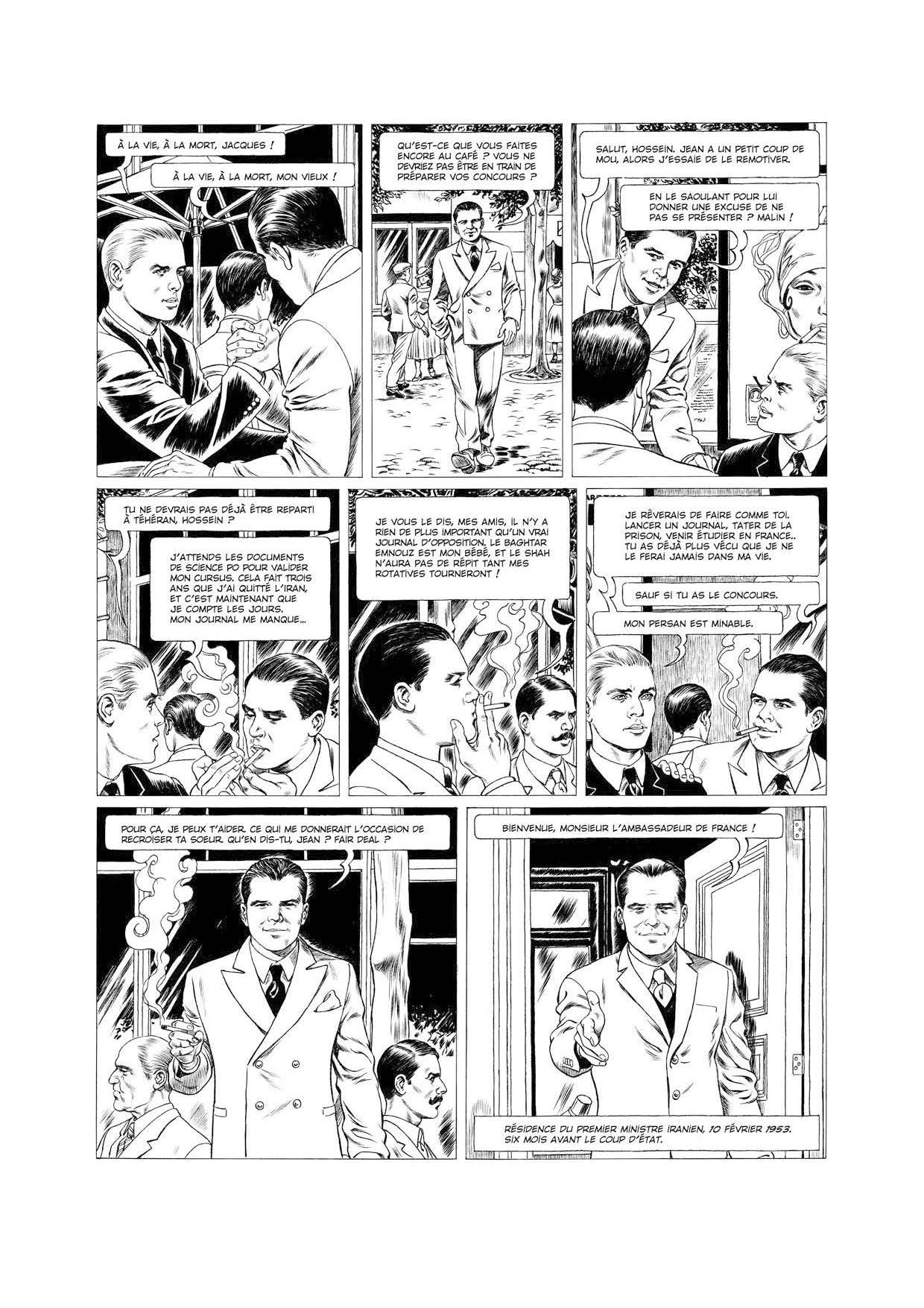 Extrait n°10 de la bd tome 1 par Tristan Roulot