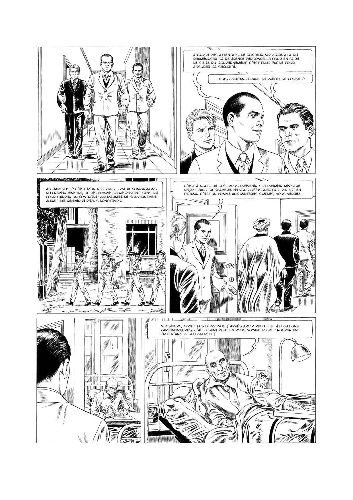 Extrait n°12 de la bd tome 1 par Tristan Roulot