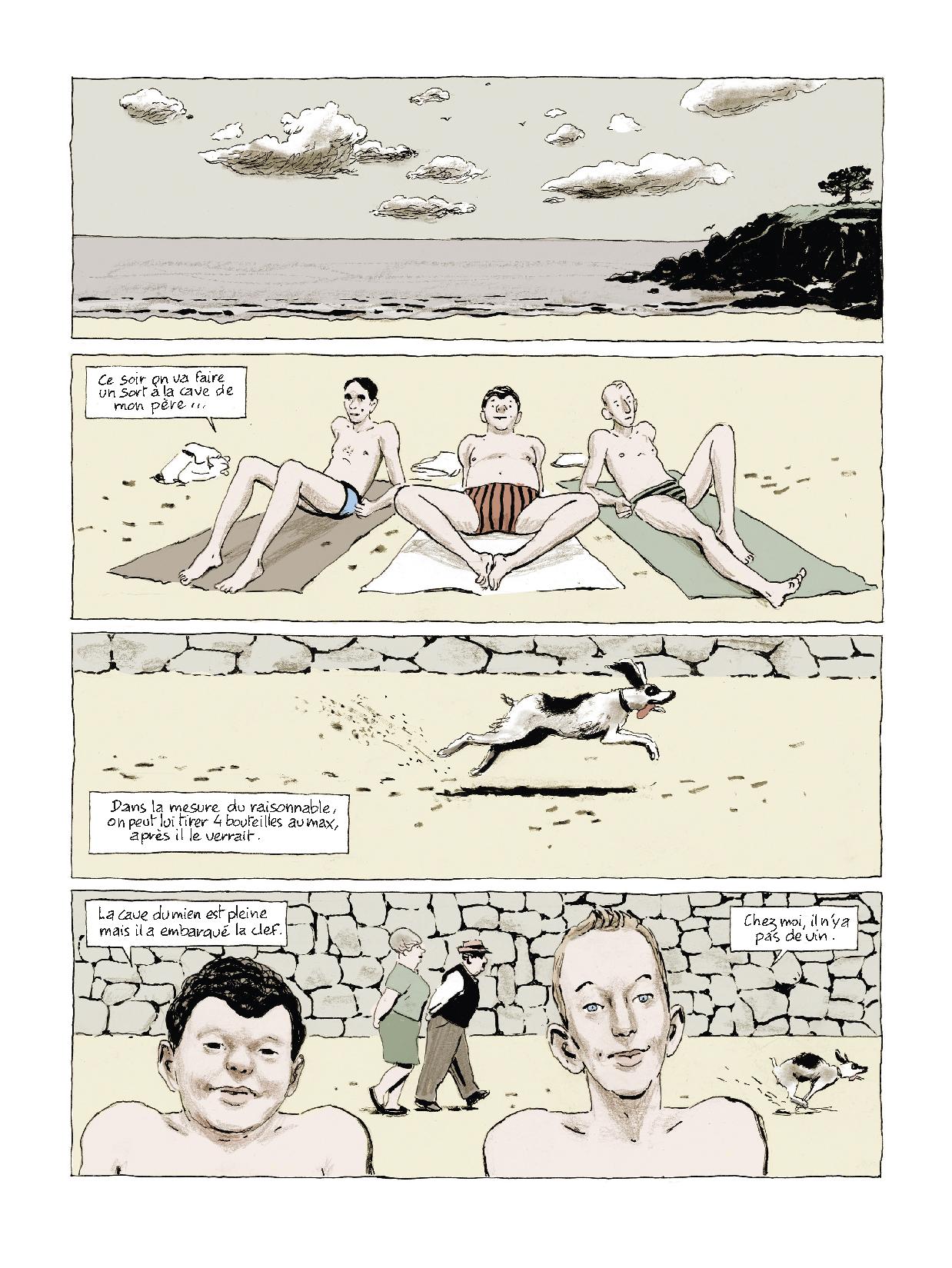 Extrait n°2 Sous les galets, la plage par Pascal Rabaté