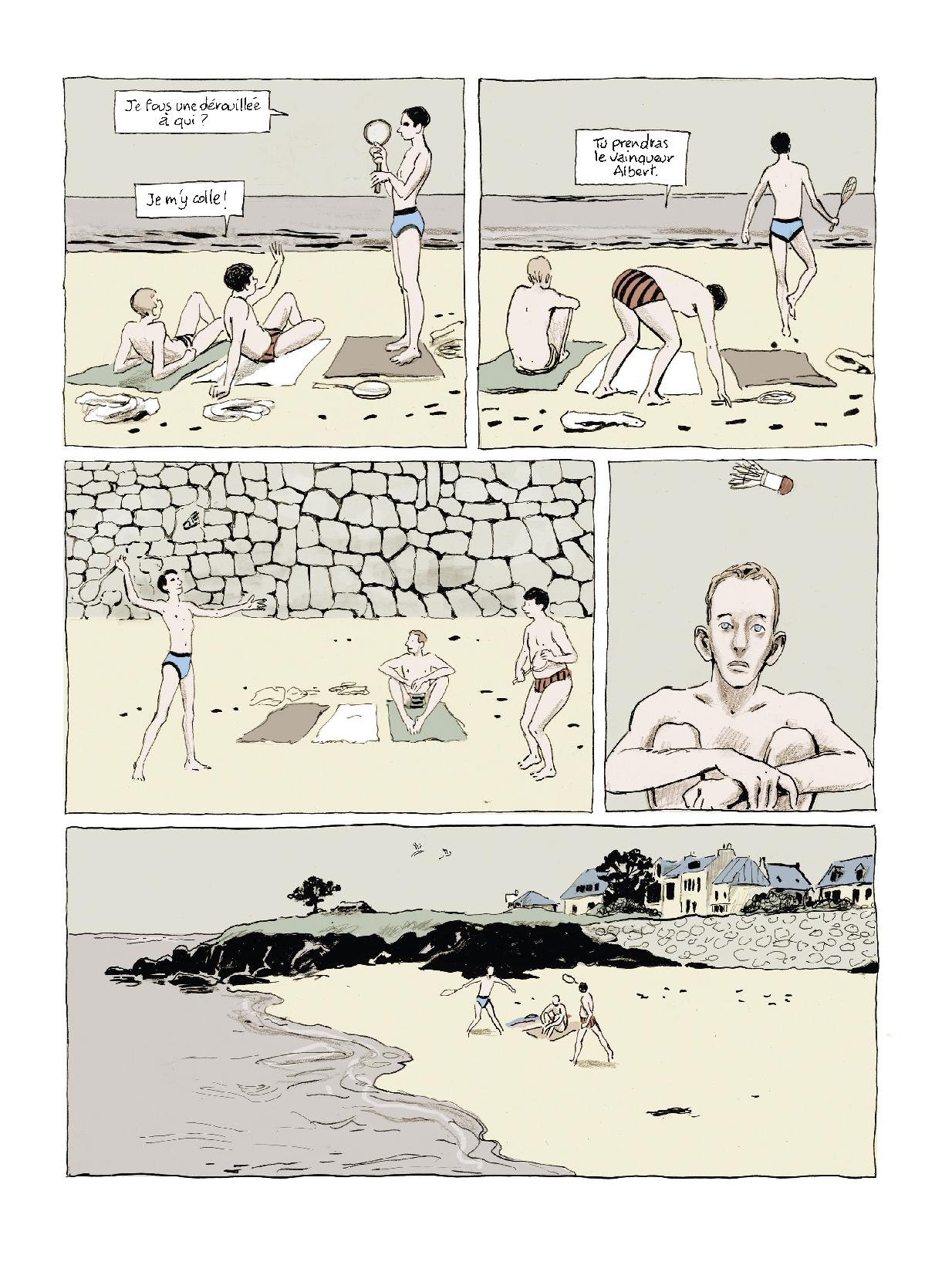 Extrait n°3 Sous les galets, la plage par Pascal Rabaté