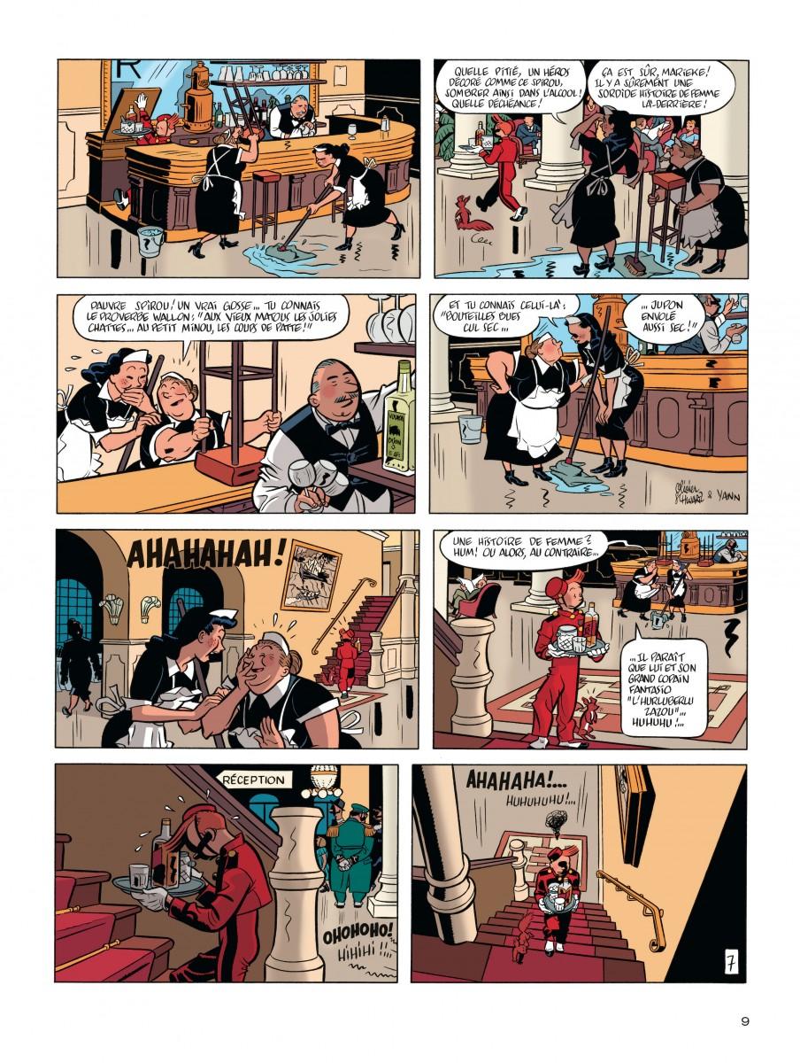 Extrait n°7 de la bd tome 7 par Yann