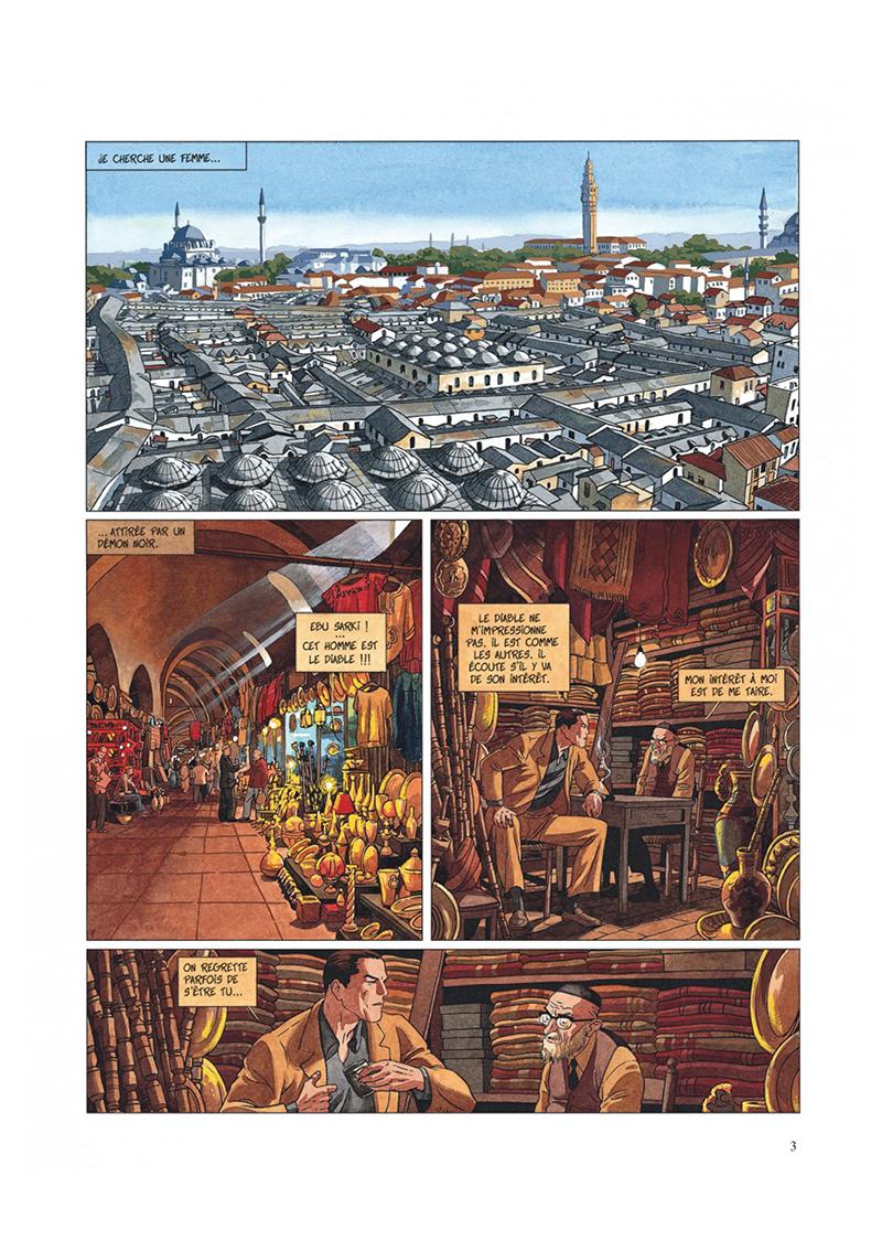 Extrait n°1 de la bd tome 2 par Jean Dufaux