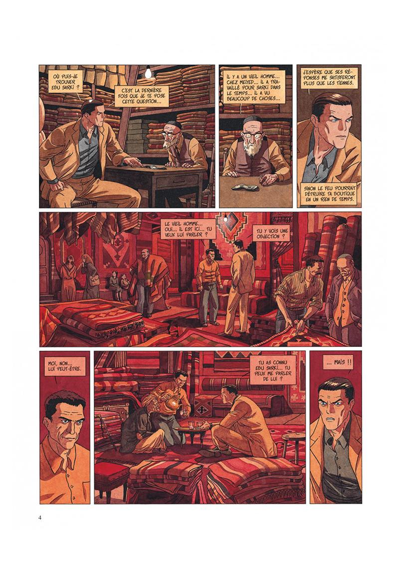 Extrait n°2 de la bd tome 2 par Jean Dufaux