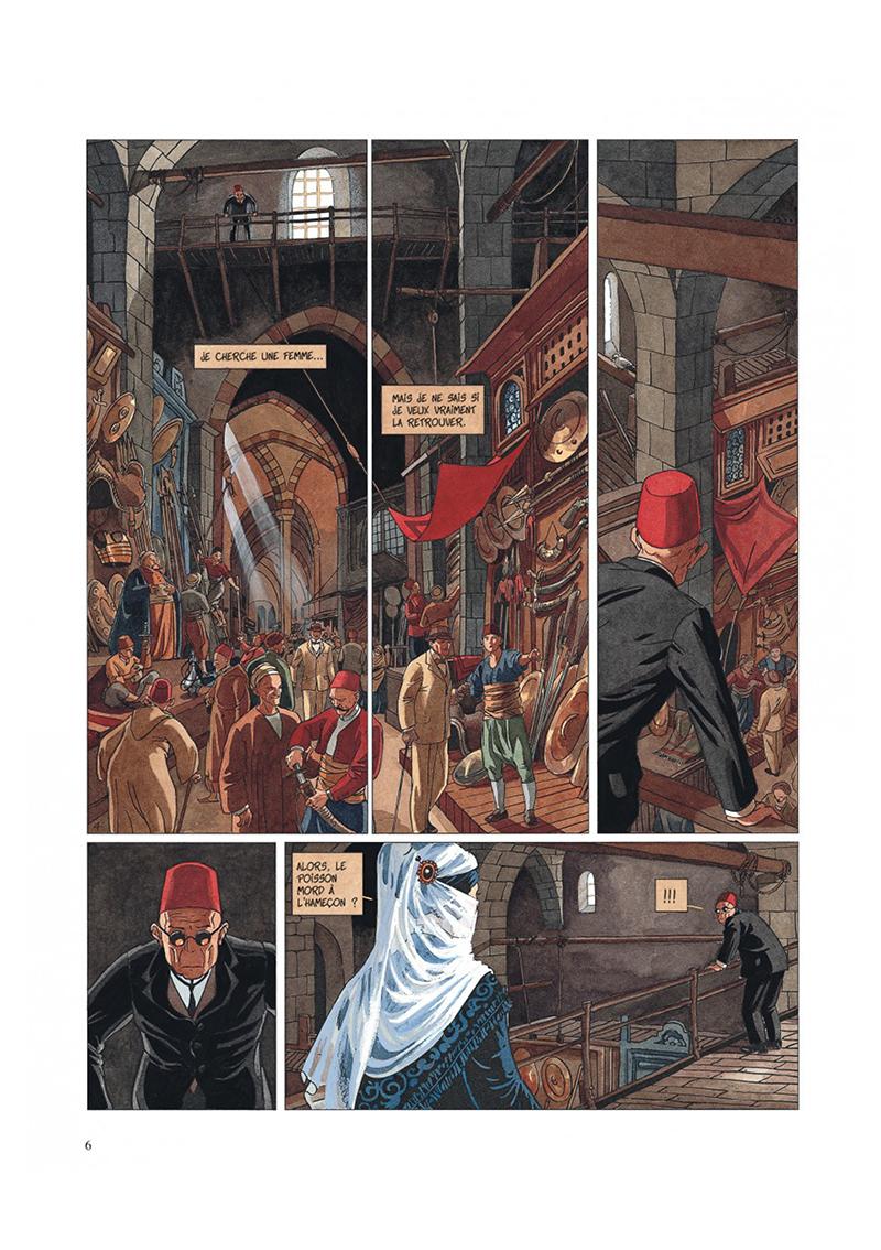 Extrait n°4 de la bd tome 2 par Jean Dufaux