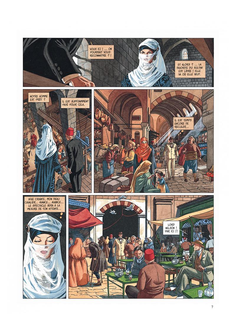 Extrait n°5 de la bd tome 2 par Jean Dufaux