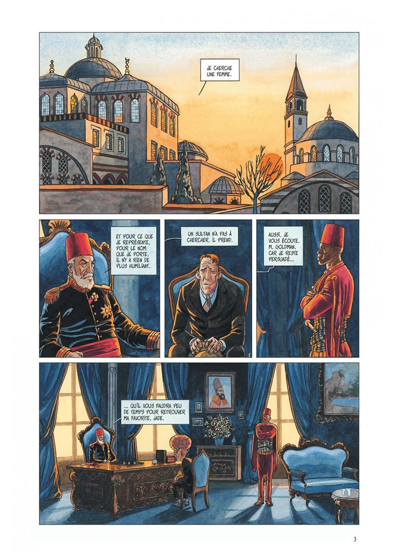 Extrait n°1 de la bd tome 3 par Jean Dufaux