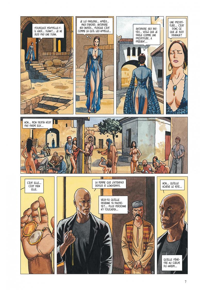 Extrait n°5 de la bd tome 3 par Jean Dufaux