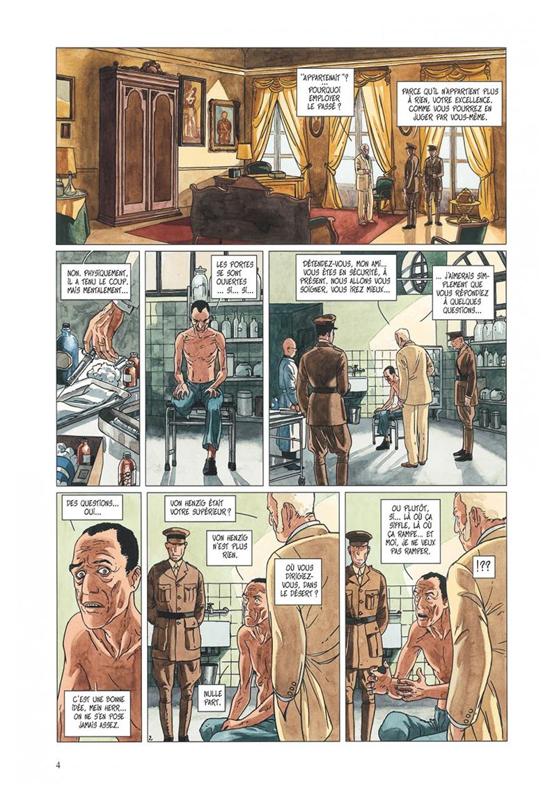 Extrait n°2 de la bd tome 4 par Jean Dufaux