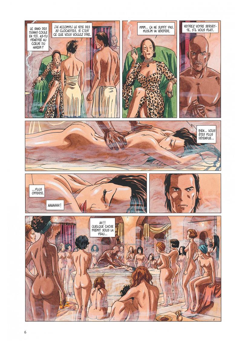 Extrait n°4 de la bd tome 4 par Jean Dufaux