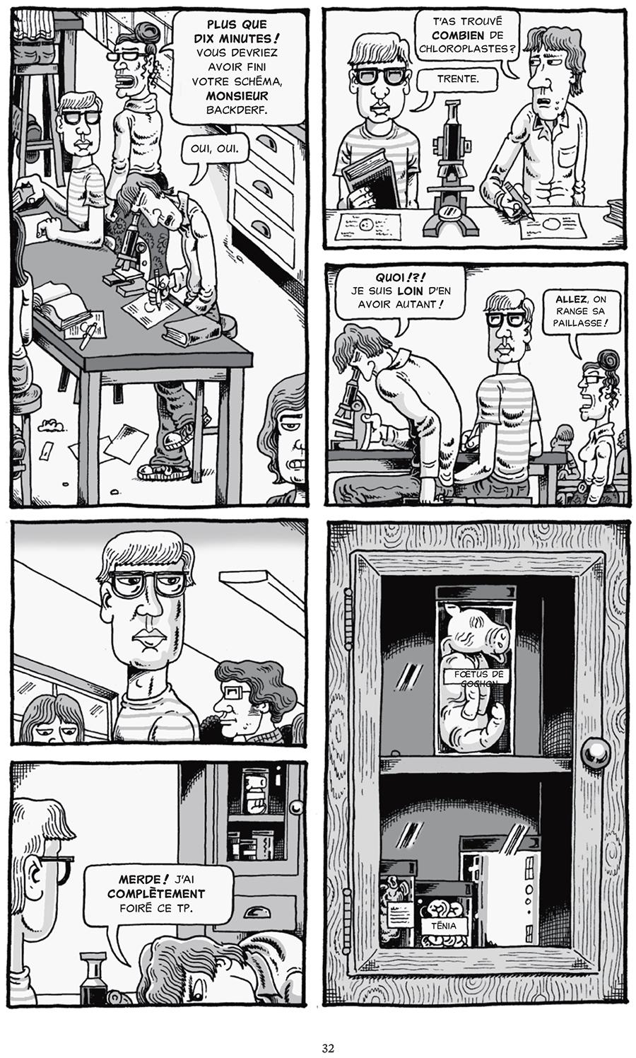 Extrait n°3 du comics Mon ami Dahmer par Derf Backderf