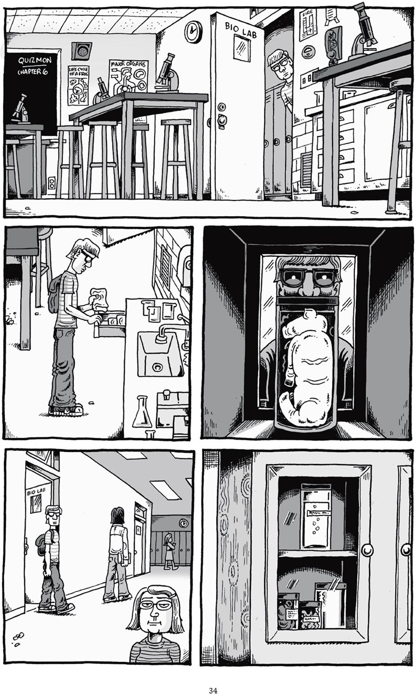 Extrait n°5 du comics Mon ami Dahmer par Derf Backderf