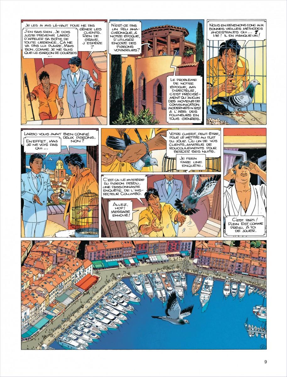 Extrait n°5 de la bd tome 15 par Jean Van Hamme