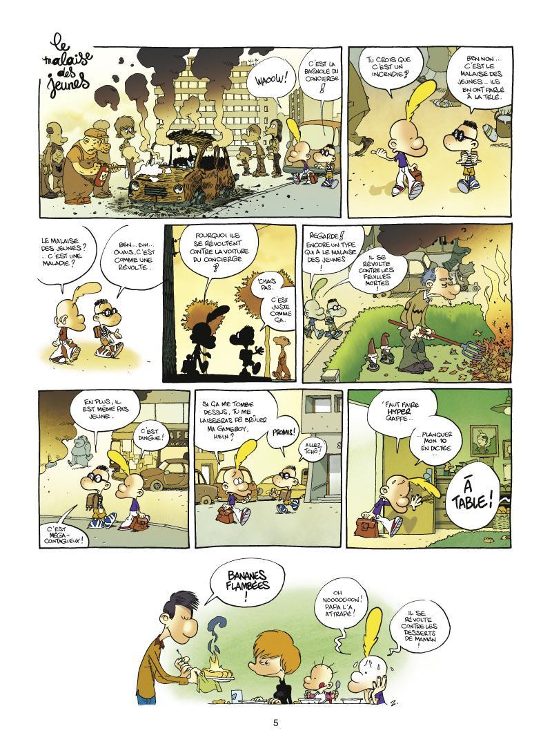 Extrait n°3 de la bd tome 11 par Zep