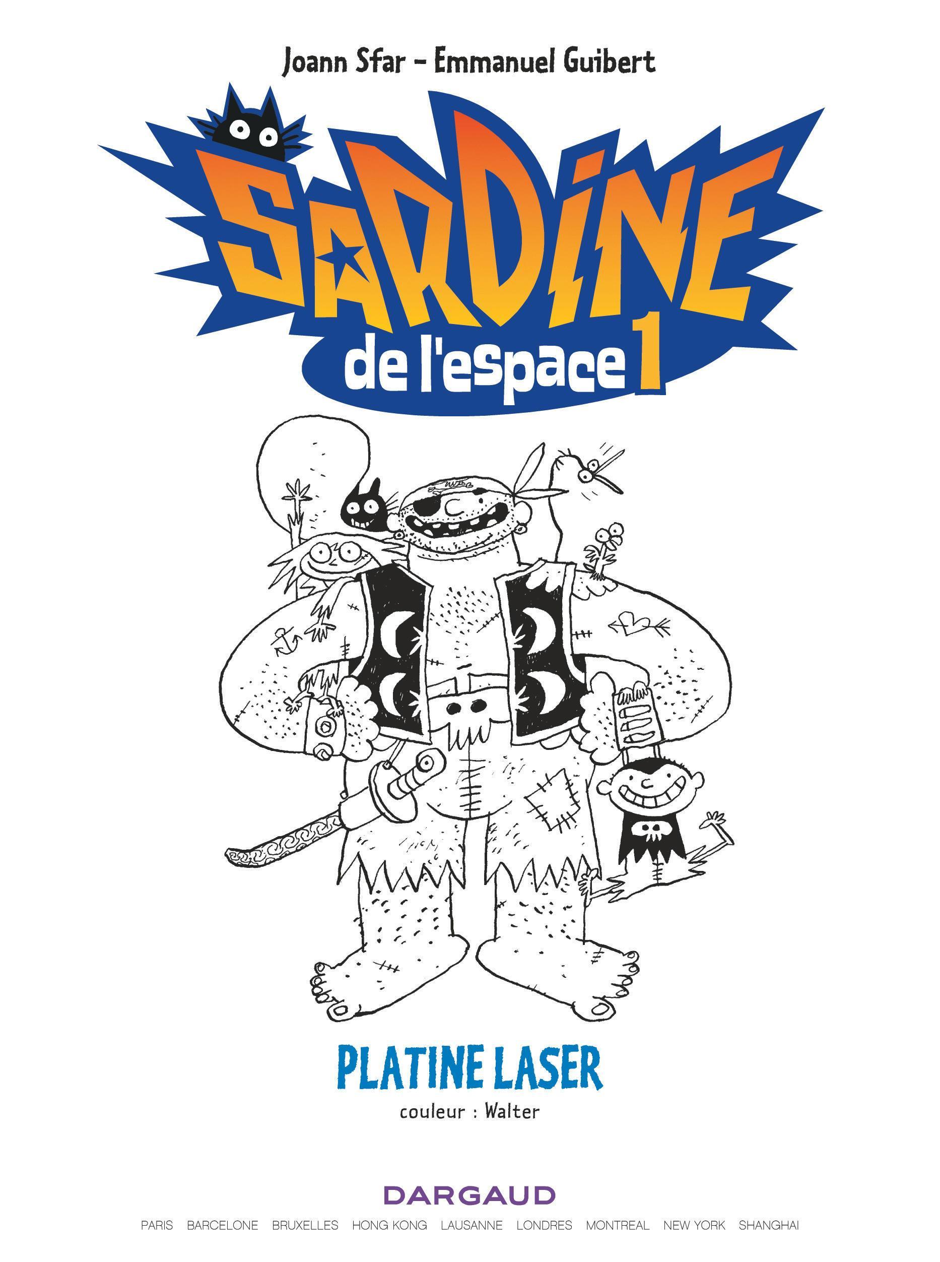 Platine laser