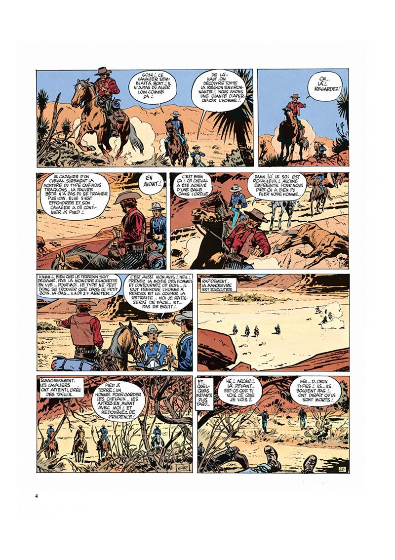 Extrait n°2 de la bd tome 3 par Moebius