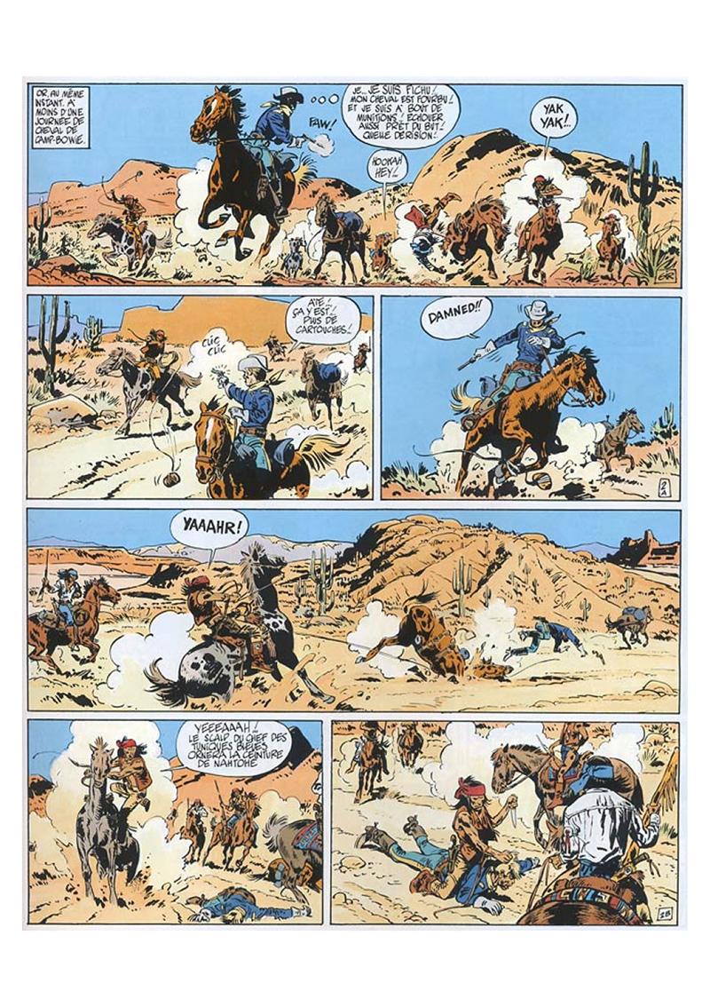 Extrait n°2 de la bd tome 4 par Moebius