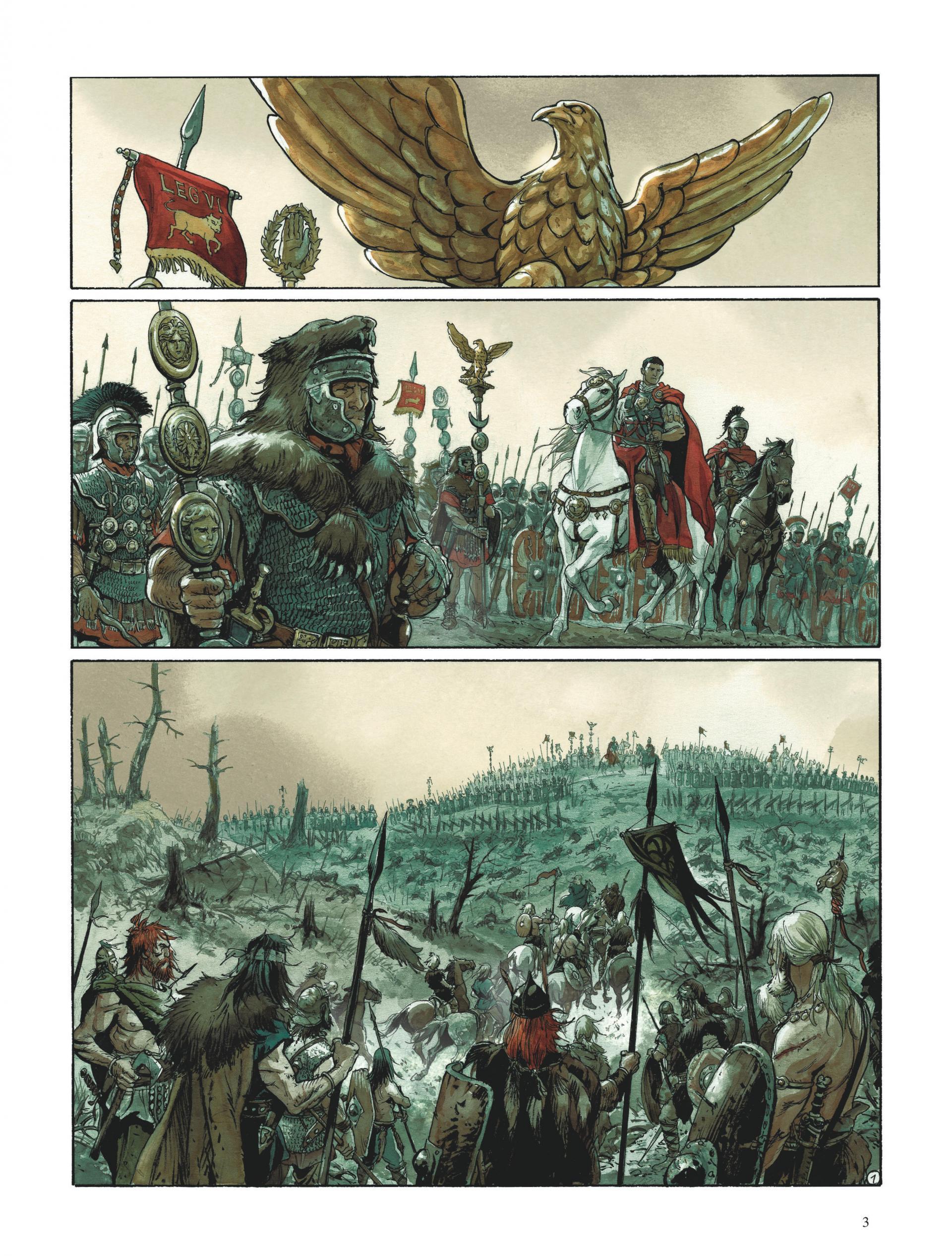 Aigles de Rome, Livre I