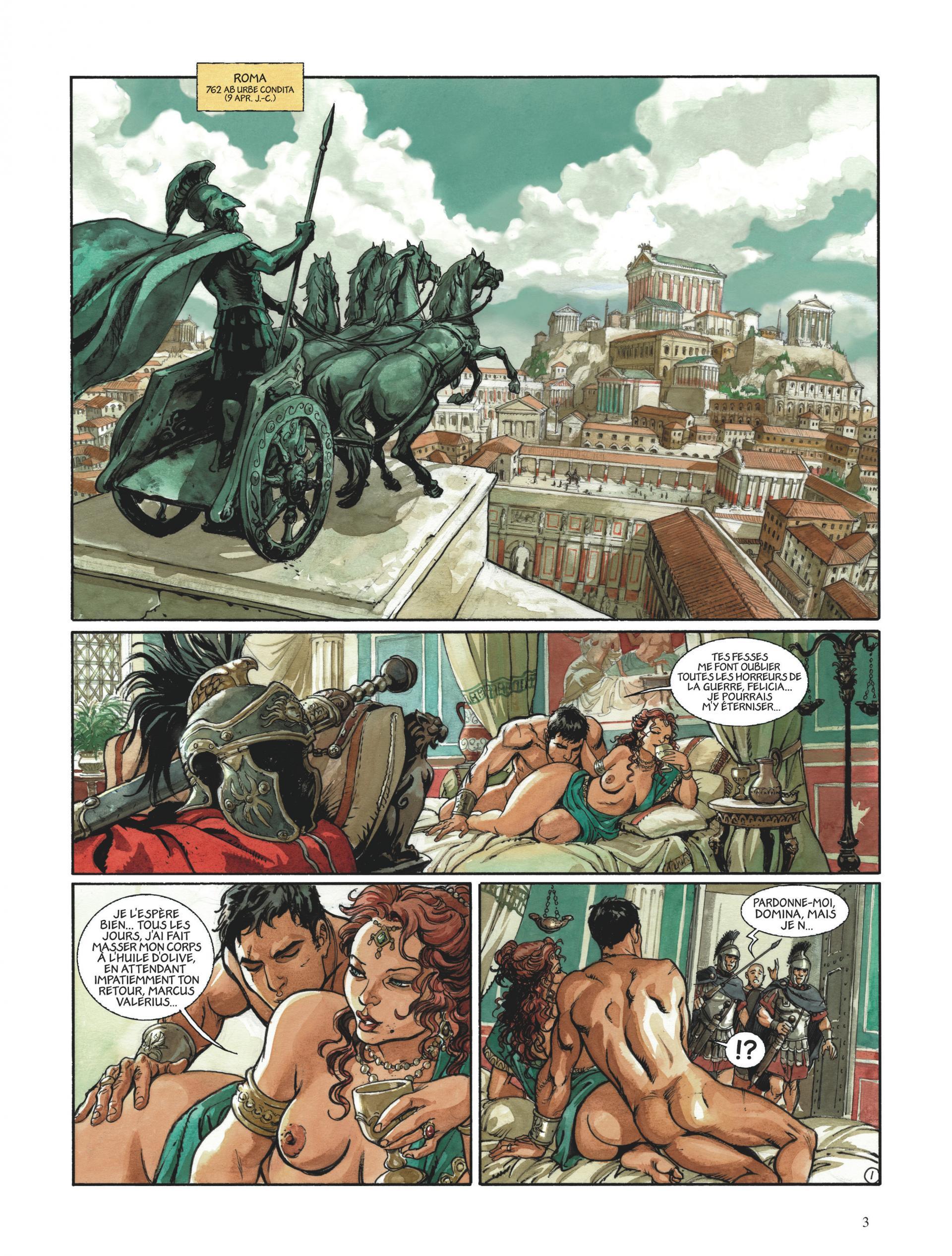 Aigles de Rome, Livre II