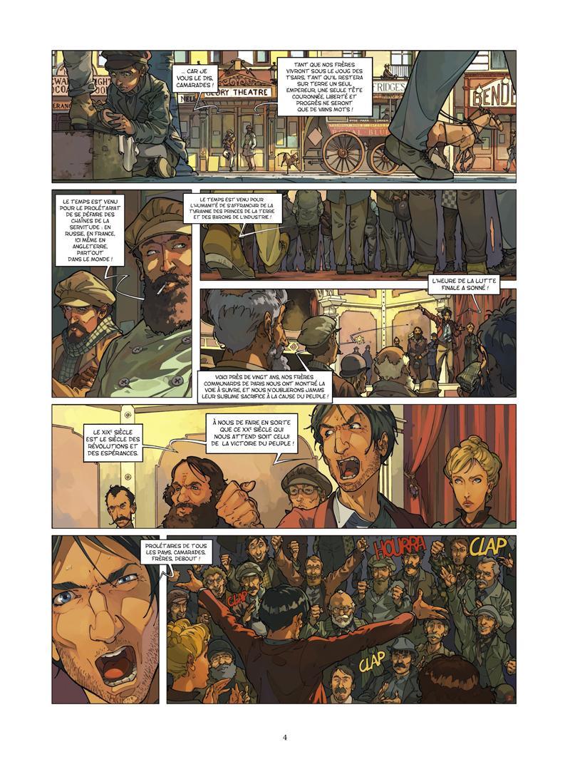 Extrait n°2 de la bd tome 2 par Jean-Blaise Djian