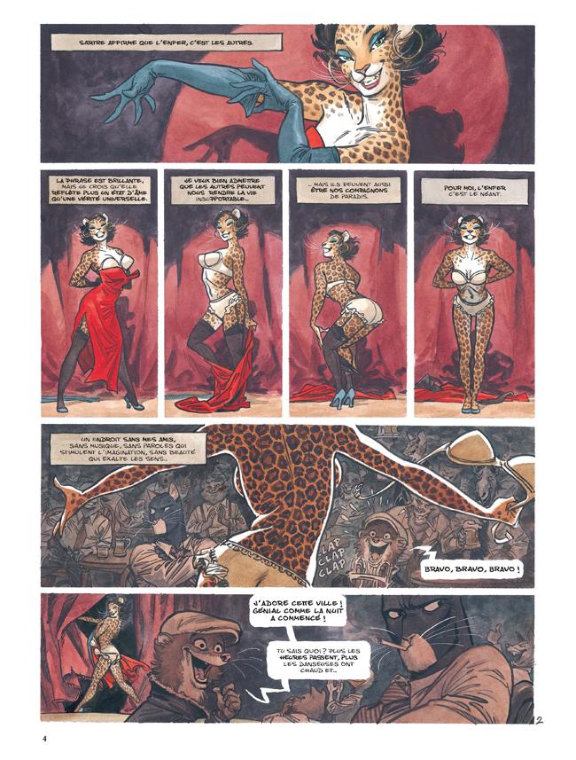 Extrait n°2 de la bd tome 4 par Juan Diaz Canales