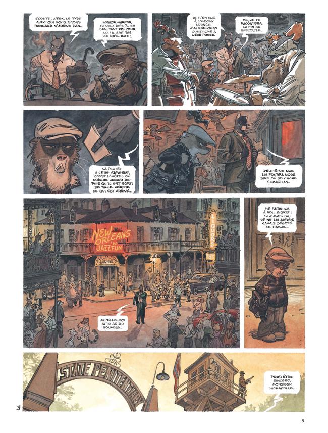 Extrait n°3 de la bd tome 4 par Juan Diaz Canales