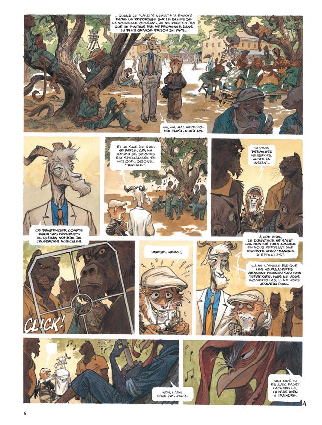Extrait n°4 de la bd tome 4 par Juan Diaz Canales