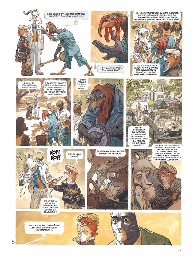 Extrait n°5 de la bd tome 4 par Juan Diaz Canales