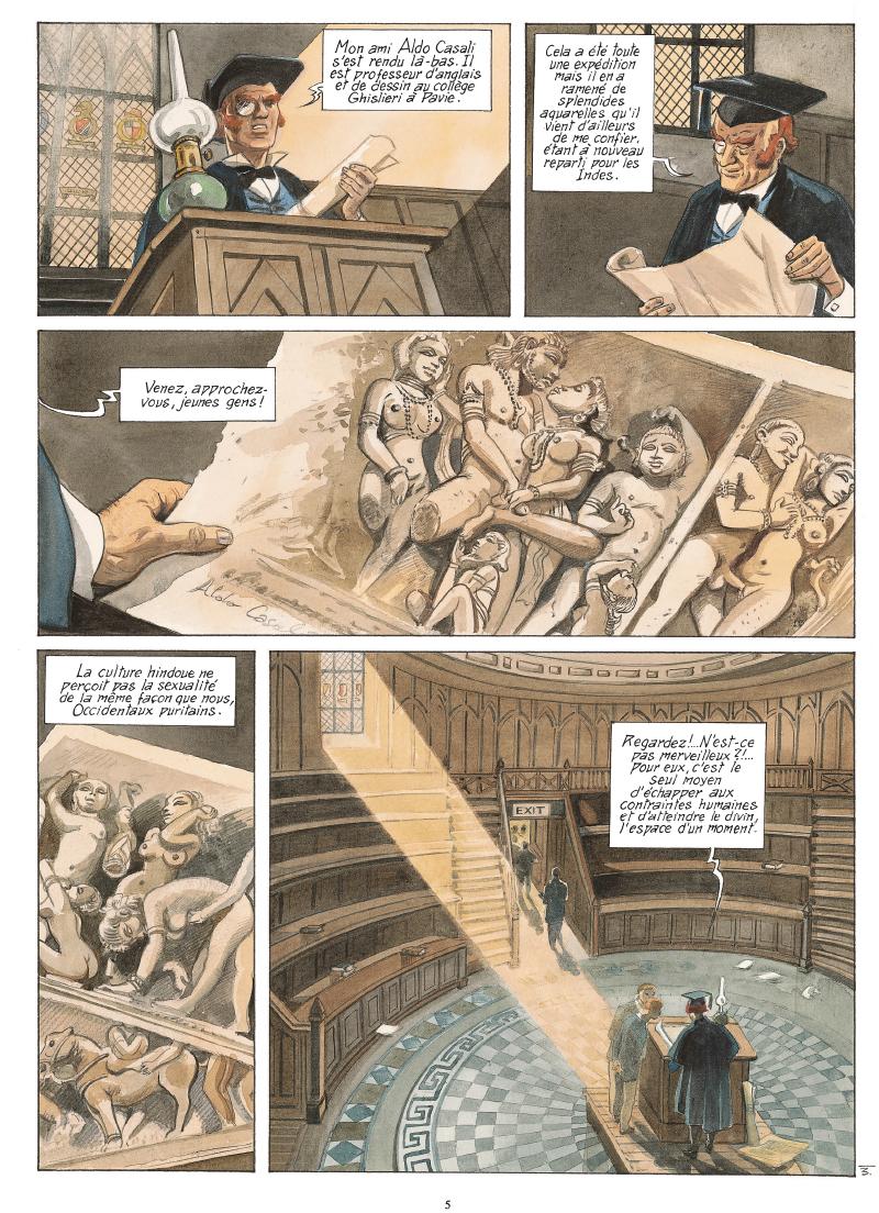 Extrait n°2 de la bd tome 6 par Maryse Charles