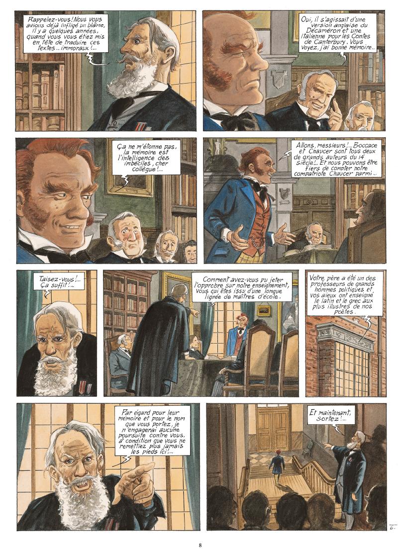 Extrait n°5 de la bd tome 6 par Maryse Charles