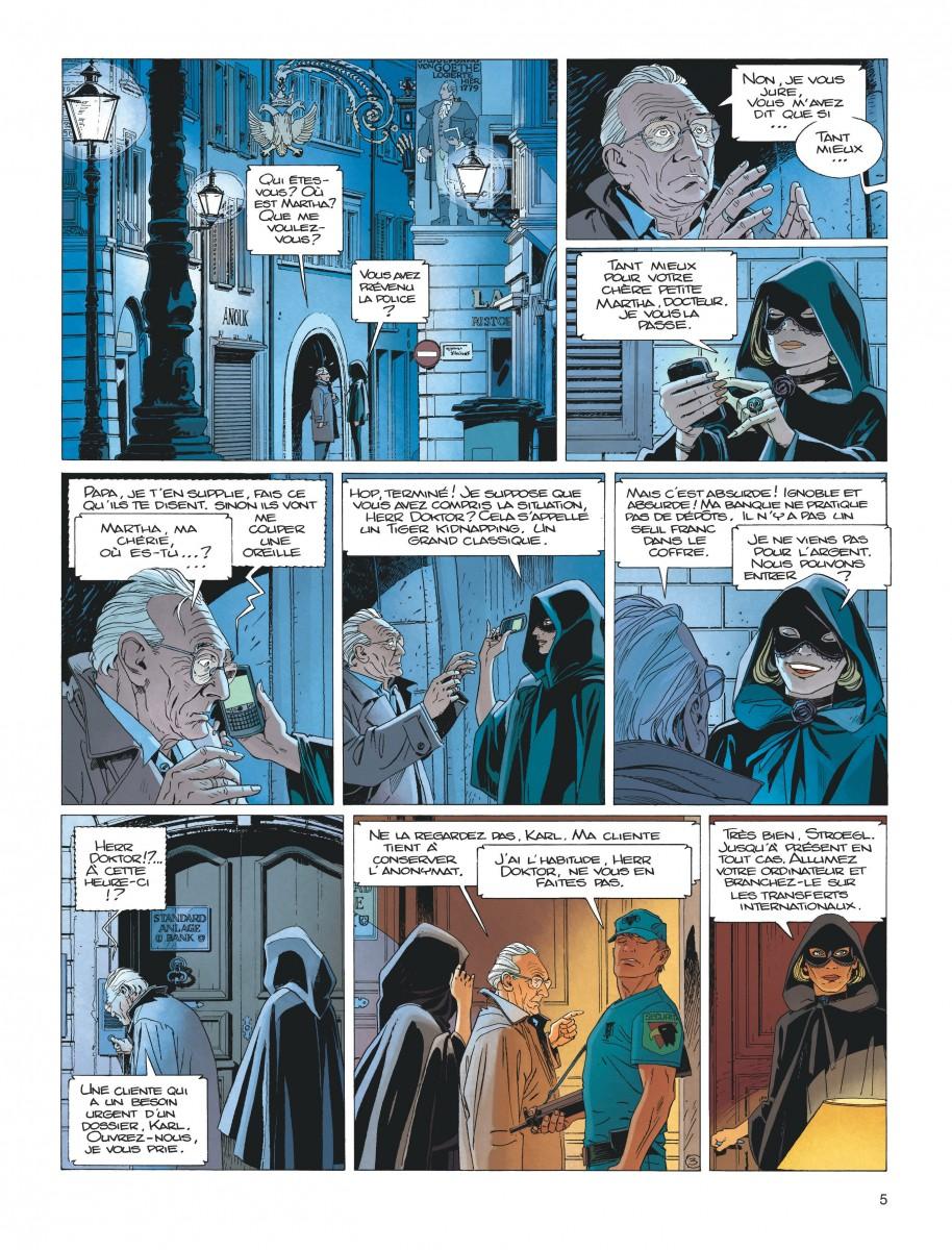 Extrait n°1 de la bd tome 17 par Jean Van Hamme