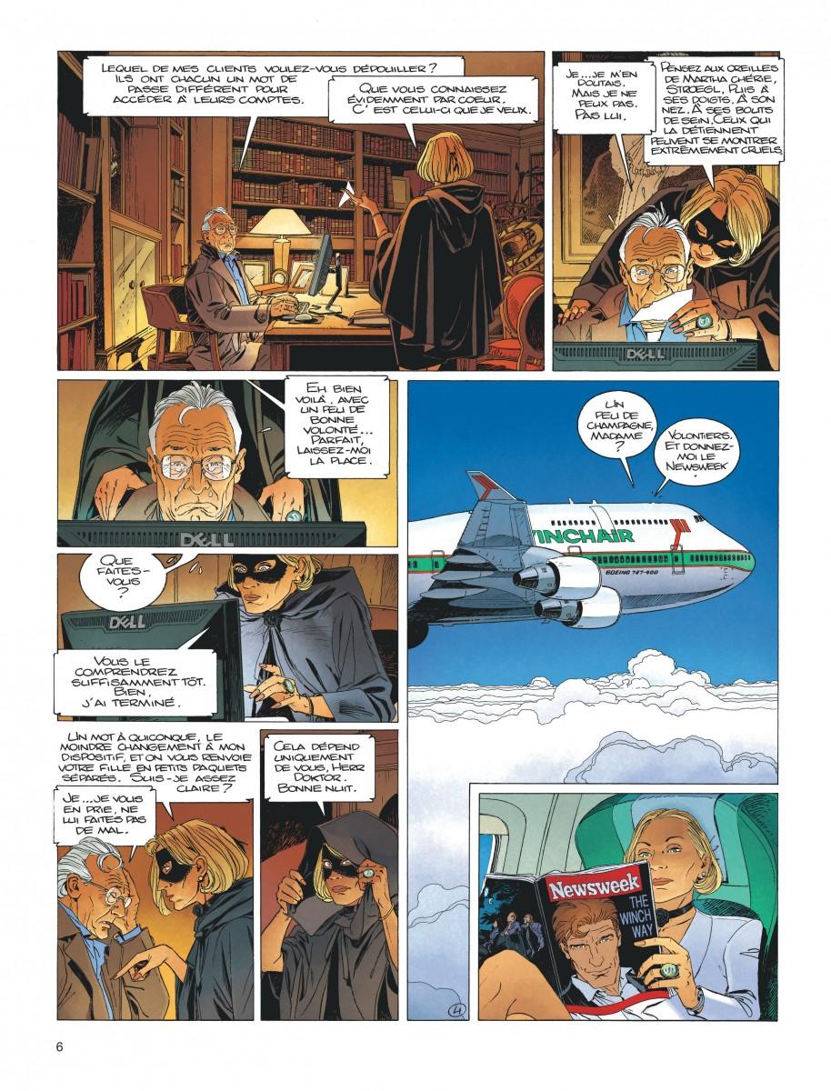 Extrait n°2 de la bd tome 17 par Jean Van Hamme