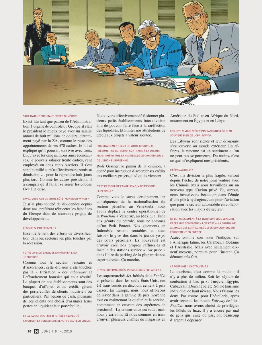 Extrait n°4 de la bd tome 17 par Jean Van Hamme