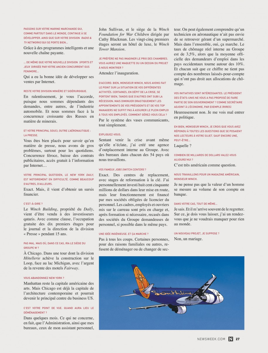 Extrait n°5 de la bd tome 17 par Jean Van Hamme