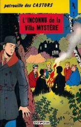 page album L'inconnu de la villa mystère