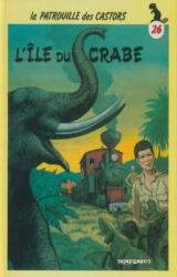 page album L'île du crabe