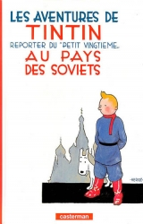couverture de l'album Tintin au pays des Soviets