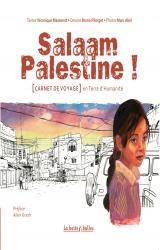 couverture de l'album Salaam Palestine, en terre d'Humanité