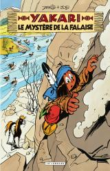 page album Le mystère de la falaise
