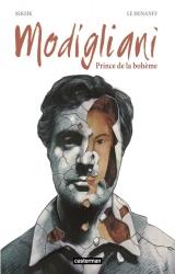 couverture de l'album Modigliani, Prince de la Bohème
