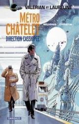 page album Métro Châtelet direction Cassiopée