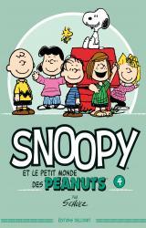 page album Snoopy et le petit monde des Peanuts T.4