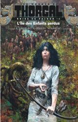 page album L'Ile des Enfants perdus
