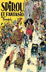 couverture de l'album Spirou et Fantasio par Franquin (fac-similé édition 1948)
