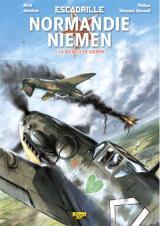 page album Escadrille Normandie-Niemen T.03 la Bataille de Korsk Edition N Signee