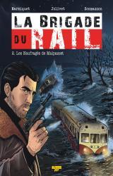 couverture de l'album La Brigade du Rail T.02 - les Naufrages de Malpasset