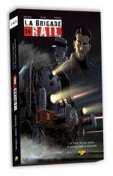 couverture de l'album Coffret la Brigade du Rail avec Bd T.01 et T.02