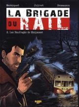couverture de l'album La Brigade du Rail T.02 - les Naufrages de Malpasset - Ex-Libris N/Signe