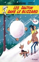 page album Les Dalton dans le blizzard